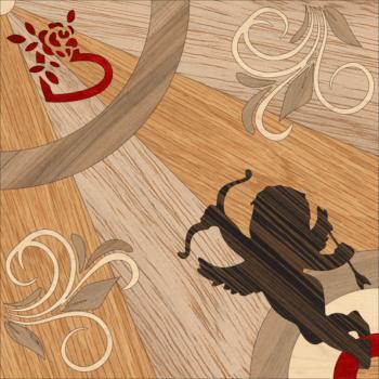 "Detail of panel ""Angel"""