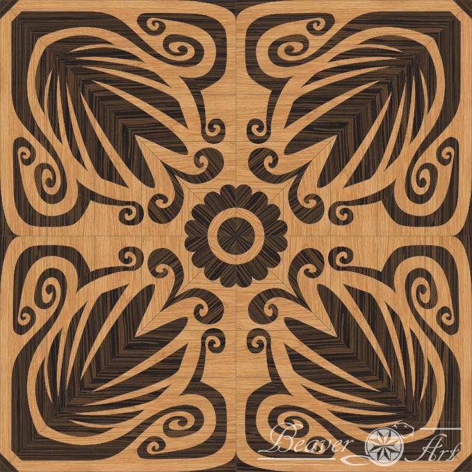exotic parquet wenge oak