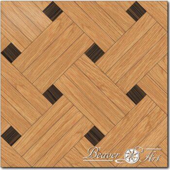 triple basket weave eik wenge parquet panel