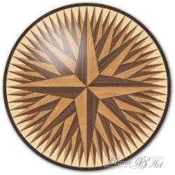 star in parquet parquet tile star decorative panel