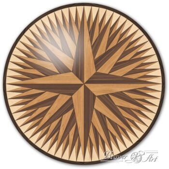 star in parquet parquet tile star decorative panel