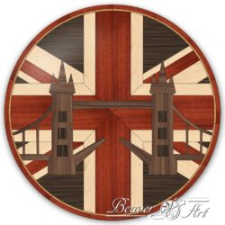 Union JackBritish monoments, hardwood flooring