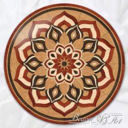 hardwood mandala