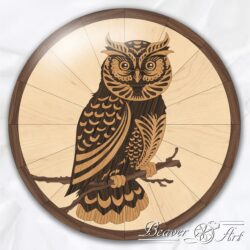 owl oak maple walnut