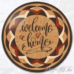 welcome home board