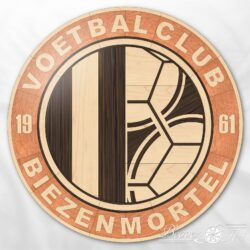 logo wood inlay